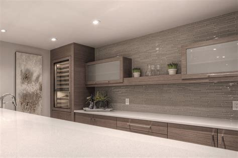 Home Bar Furniture Calgary Calgary New Build Nebula Contemporary Home Bar