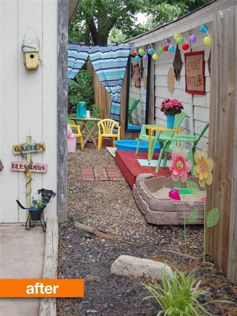 kid friendly backyard before after olivia s kid friendly patio my great