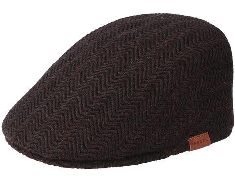 Herringbone Cap herringbone americano flat cap kangol caps hatstore co uk