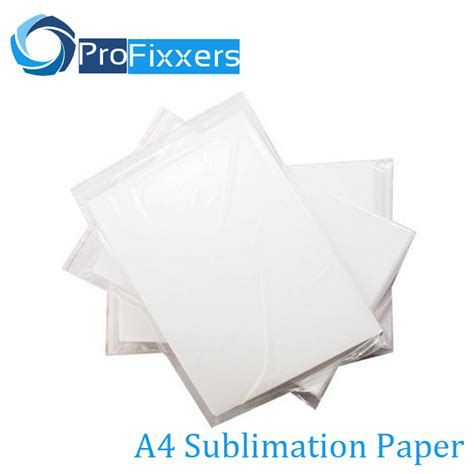 How To Make Sublimation Paper - 100 sheets a4 sublimation paper for 3d sublimation machine