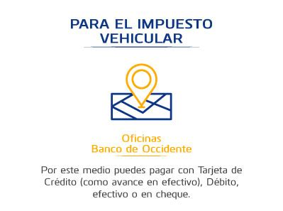 pago impuesto vehicular en medelln impuestos medell 237 n banco de occidente