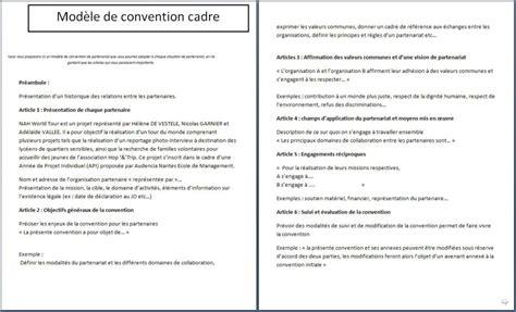 Modèle De Convention modele convention