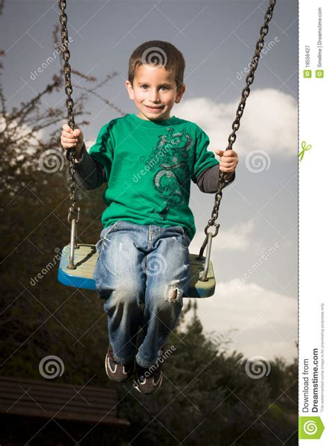 play boy swing videos boy on swing royalty free stock photography image 18556427