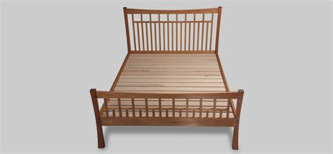 Platform Bed Slats Craftsman Style Bed Red Birch Designs