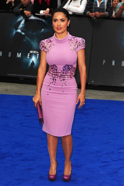 Salmah Dress by Fug Or Fab Salma Hayek Go Fug Yourself