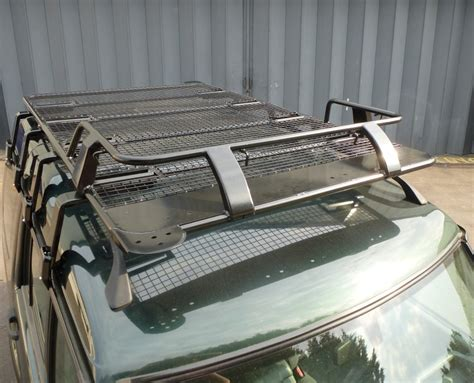 items on roof rack mitsubishi delica roof rack black powder coated steel for