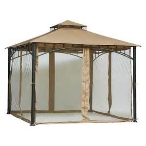 10x10 Gazebo With Mosquito Netting threshold universal gazebo mosquito netting target