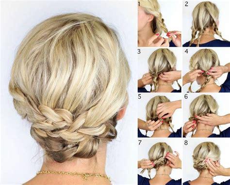 Hochzeitsfrisuren Mittellanges Haar by Hochsteckfrisuren Fur Mittellanges Haar Die Besten