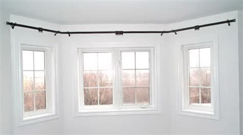 Beautiful Yet Functional Curved Curtain Rod The Homy Design