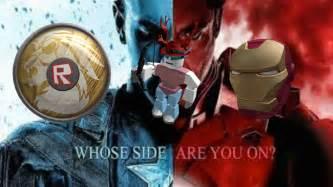 roblox civil war event iron man helmet