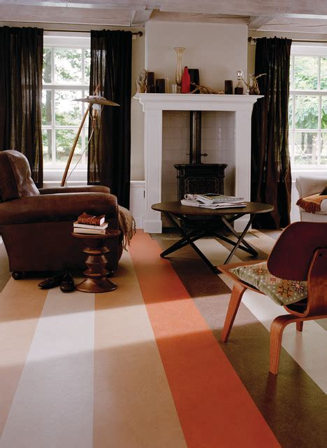 forbo marmoleum click natural linoleum flooring traditional living room chicago greenbuildingsupplycom