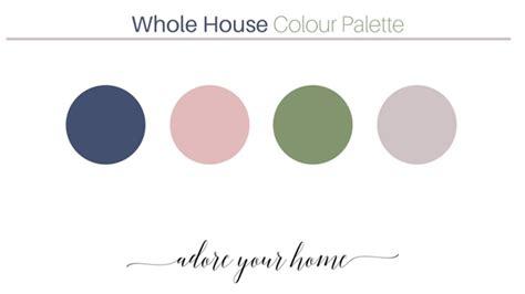 whole house color palette 2017 how i created a whole house colour palette case study