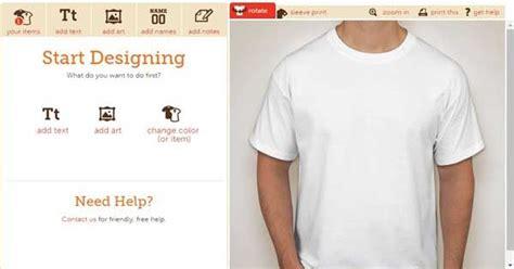 cara desain baju bola online cara mudah membuat desain baju kaos secara online grafis