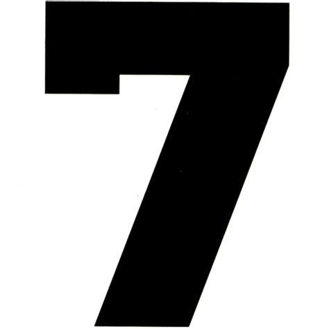 number 7 temporary tattoo 1 5x2 tattoo