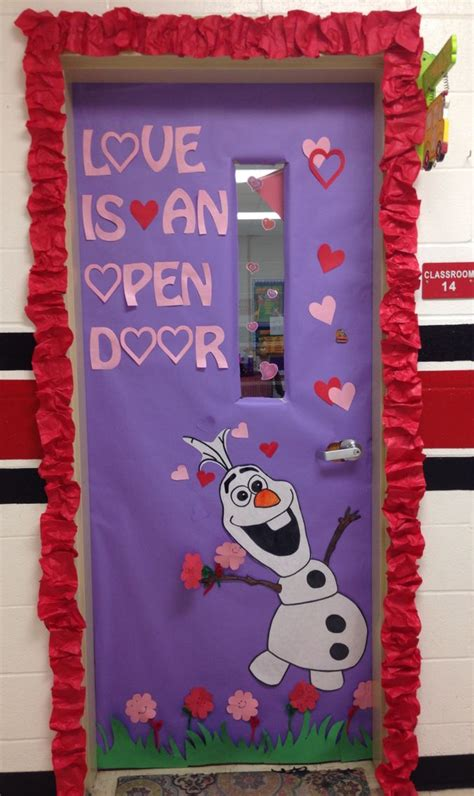 valentines door ideas olaf s door classroom olaf