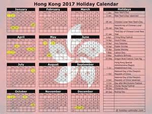 Calendar 2018 Hong Kong Holidays Hong Kong 2017 2018 Calendar
