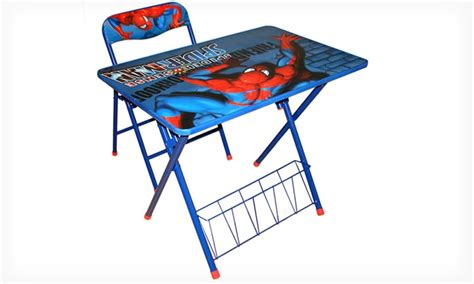 Spider Man Activity Desk And Chair Set Groupon Activity Desk And Chair