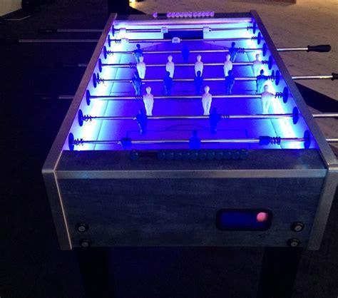 ea sports foosball table standard led foosball table 171 los angeles partyworks inc