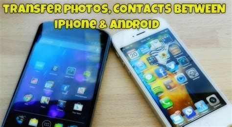 android to iphone transfer app transfer photos contacts between android and iphone with send anywhere app