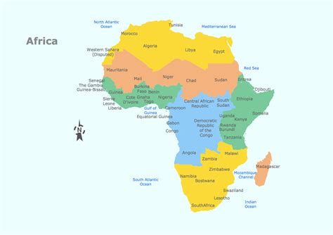 map of africa countries geo map africa