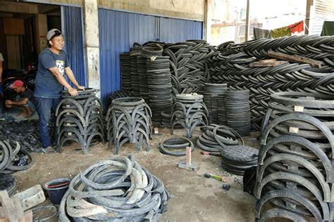 Kursi Roda Bekas Di Yogyakarta mendulang rupiah dari ban bekas
