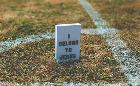 belong  jesus   visual history  football slogans
