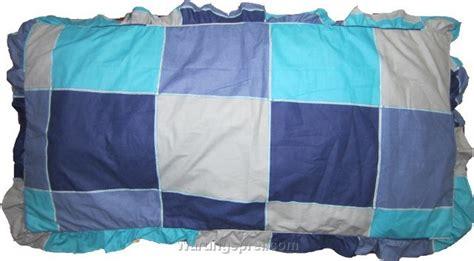 Bantal Crown Bantal Kotak Sepasang Guling sarung bantal cinta kotak biru warungsprei