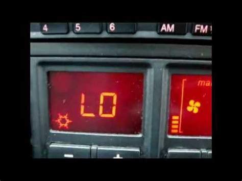 audi a6 1996 auto air con compressor inactive clutch youtube