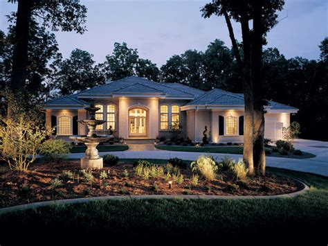 House Plans With Daylight Walkout Basement talia stucco luxury home plan 051s 0103 house plans and more