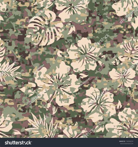 Best Camo Pattern For Hawaii | aloha hawaiian shirt camouflage seamless background stock