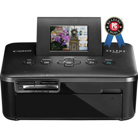 Printer Canon Selphy Cp800 New canon selphy cp800 compact photo printer black 4350b001 b h