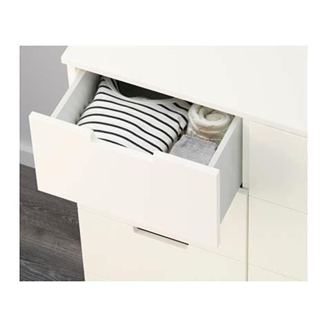 8 Drawer Chest Of Drawers White by Nordli Chest Of 8 Drawers White 120x97 Cm