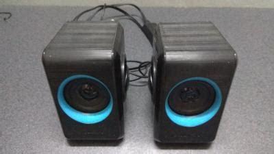wts sonicgear quatro 2 mini speakers blue
