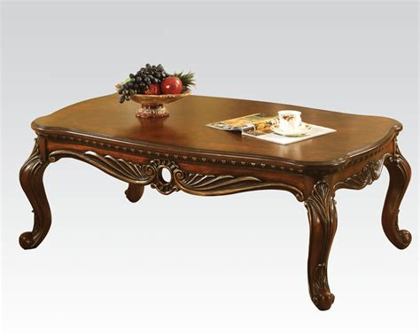 Acme Coffee Table Coffee Table Dorothea By Acme Furniture Ac80590
