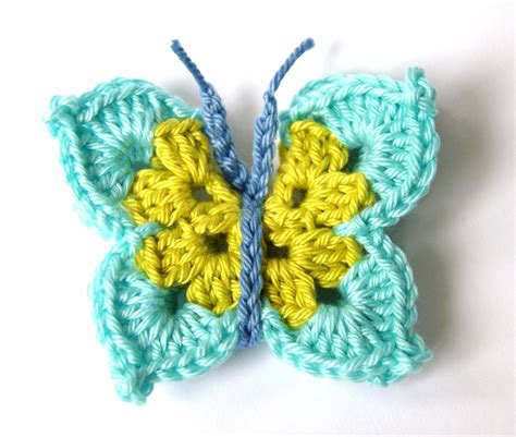 butterfly pattern in crochet crochet butterfly applique by sympaticoshop on etsy