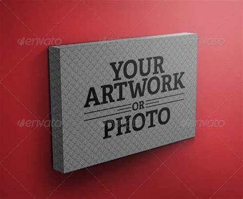 canva mockup canvas gallery wrap mockup by morpheusda graphicriver