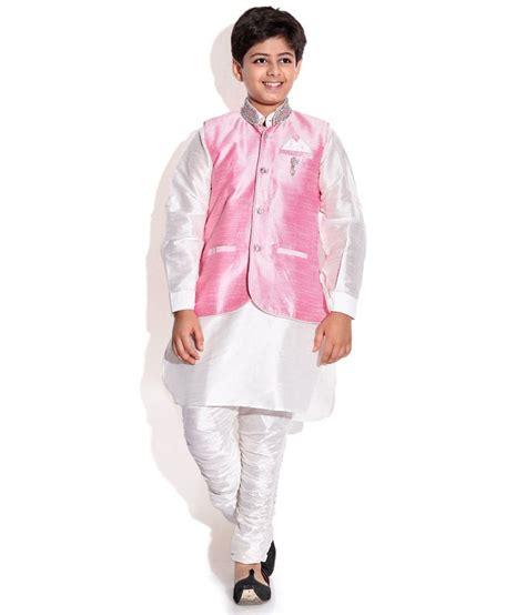 riwaaz cream mehroon color kurta pajama set with jacket riwaaz pink white color kurta pajama set with jacket for