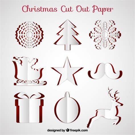 Cut Out cut out paper vector free