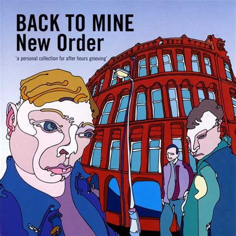 Ordered Back To by Back To Mine New Order Co Mixed By Graham Massey