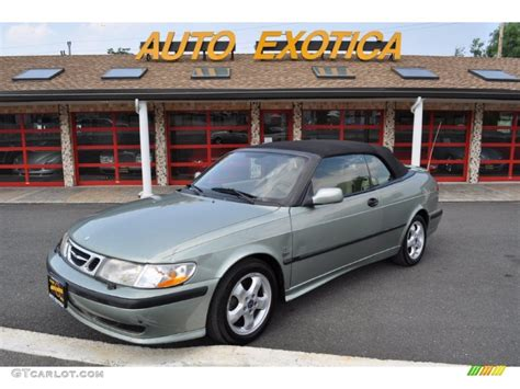 saab convertible green 2001 sun green metallic saab 9 3 se convertible 52087139