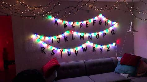 how to make christmas lights work again diy stranger things interactive christmas lights youtube