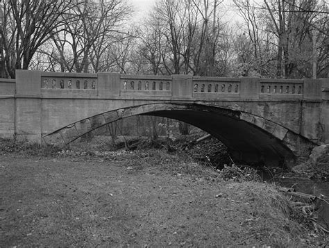 Allen County Indiana Records File Bridge Spanning Run Creek At Fort Wayne Allen