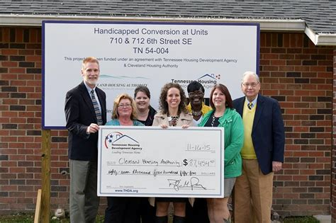 cleveland housing authority cleveland housing authority awarded thda grant
