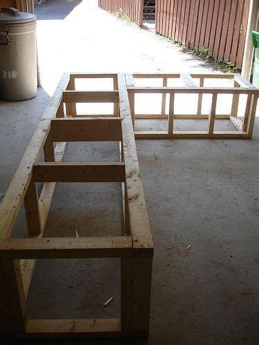 decked  garden storage bench diy outdoor