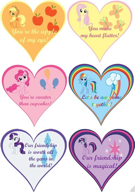 my pony valentines mlp fim s by i hear voices on deviantart