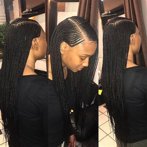 three layer cornrows braids lemonade tuku oke