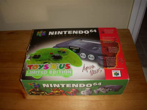 in the box toys r us box manual styrofoam only for nintendo 64 n64 console