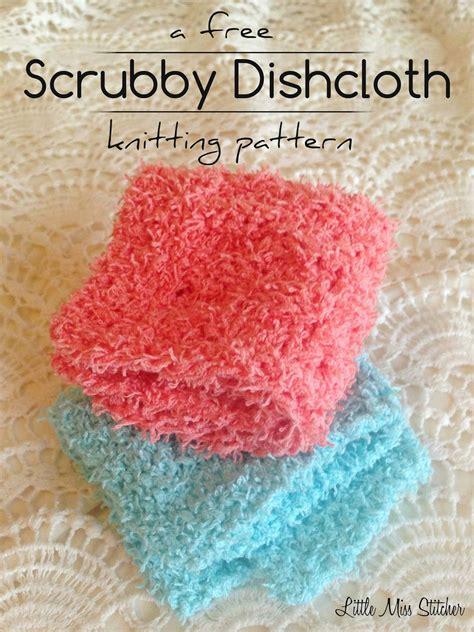 knitted scrubbies free pattern miss stitcher scrubby dishcloth pattern