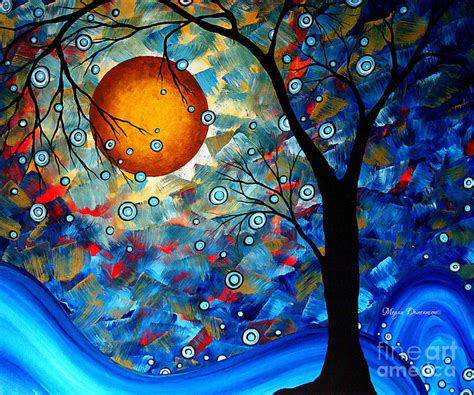 modern art contemporary modern art original abstract landscape