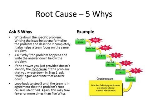 Root Cause Analysis District 1 Membership Ppt Video Online Download 5 Whys Root Cause Analysis Template
